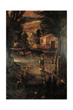The Flight into Egypt Giclee Print by Jacopo Robusti Tintoretto