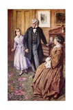 """""""Oh, Sir! They Do Care, Very, Very Much!"""" Giclee Print by Harold Copping"""