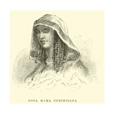 Coya Mama Curihillpa Giclee Print by Édouard Riou