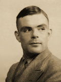 Portrait of Alan Mathison Turing Photographic Print