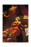The Announciation Giclee Print by Jacopo Robusti Tintoretto