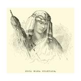 Coya Mama Ccahuana Giclee Print by Édouard Riou