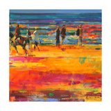 The Canter, Paris Plage Giclee Print by Peter Graham