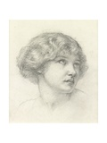 Head of a Girl Giclee Print by Walter John Knewstub
