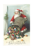 Scandinavian Christmas Card Giclee Print