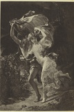 The Storm by Pierre Auguste Cot Photographic Print by Pierre Auguste Cot