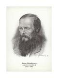 Fyodor Dostoyevsky, Russian Novelist Giclee Print by Vasili Grigorevich Perov