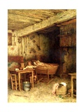 Interior of a Cottage Giclee Print by Alexei Alexevich Harlamoff