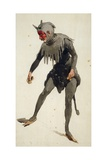 Costume Sketch Giclee Print by Adolf Hohenstein