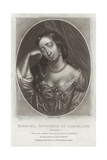 Barbara, Duchess of Cleveland Giclee Print by William Faithorne