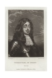 Charles, Earl of Derby Giclee Print by Sir Anthony van Dyck