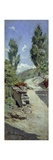 Road in Hills Giclee Print by Adolfo Belimbau