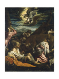 The Annunciation to the Shepherds, C.1555-1560 Giclee Print by Jacopo Bassano