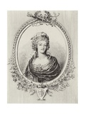 Marie Antoinette Giclee Print by Henri Toussaint
