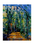 Path in the Forest, 1902-06 Giclee Print by Paul Cézanne