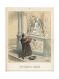 The Fiddler of Gmund Giclee Print by Theodor Hosemann