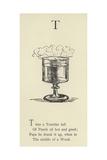 The Letter T Giclée-Druck von Edward Lear