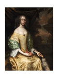 Miss Butterworth of Belfield Hall, 1650-70 Giclee Print by John Michael Wright