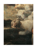 The Collection of the Manna Giclee Print by Jacopo Robusti Tintoretto