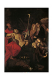 The Mass at the Sepulchre Giclee Print by Giovanni Battista Crespi
