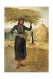Hay Makers, Circa 1890 Impression giclée par Silvestro Lega