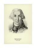 Gavrila Derzhavin, Russian Poet and Statesman Giclee Print by Vladimir Lukich Borovikovsky