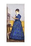 Painter, 1869 Impression giclée par Silvestro Lega