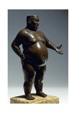 Obese Man Giclee Print by Andrea Riccio