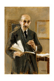 Self Portrait, 1916 Giclee Print by Max Liebermann