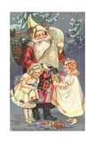 Christmas Greetings Giclee Print
