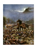 Sweyn's Poisoned Army, 1036 Giclee Print by Henry Payne
