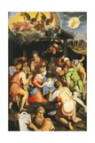 Adoration of the Shepherds Giclee Print by Pellegrino Tibaldi