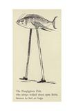 The Fizzgiggious Fish Giclée-Druck von Edward Lear