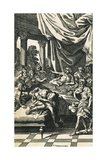 Illustration to Britannicus Giclee Print by Jean Racine