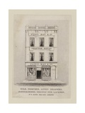 Silk Mercer, Flint Ray and Co, Trade Card Giclee Print