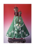 Statuette of the Virgin Mary of Svatá Hora Giclee Print