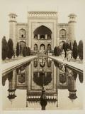Main Gate to the Taj Mahal, Agra Reproduction photographique