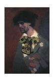 Self-Portrait Giclée-Druck von Lorenzo Viani