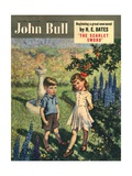 Front Cover of 'John Bull', August 1950 Giclée-tryk