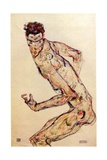 The Fighter, 1913 Giclee Print by Egon Schiele