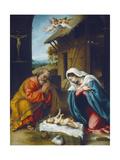 The Nativity, 1523 Giclee Print by Lorenzo Lotto