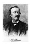 Portrait of Heinrich Schliemann Giclee Print