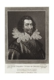 George Villers Duke of Buckingham Giclee Print by Cornelius Jansen