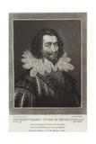 George Villers Duke of Buckingham Giclee Print by Cornelius Jansen