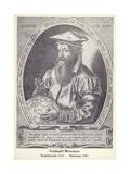 Gerardus Mercator Giclee Print