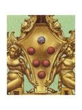 Arms of the Medici Family Giclee Print by Pat Nicolle