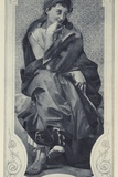 Thalia, Muse of Comedy Photographic Print by Paul Baudry