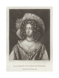 Elizabeth Countess of Kildare Giclee Print by Willem Wissing