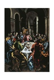 The Feast in the House of Simon Giclee Print by  El Greco