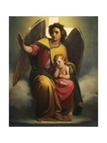 Guardian Angel, 1854 Giclee Print by Antonio Zona